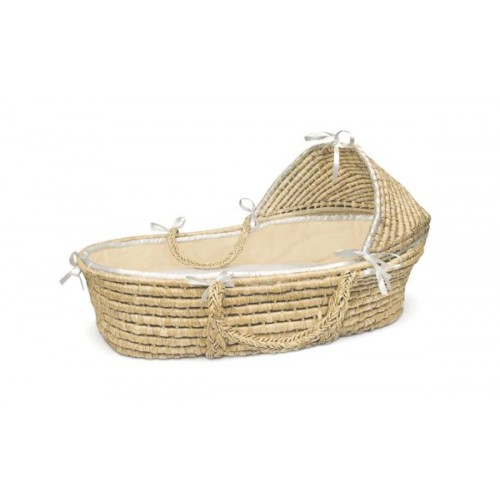 Liner and Sheet Only for Standard Maize Moses Baskets – Ecru Waffle