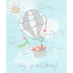 """""""Up Up & Away"""" Painting"""